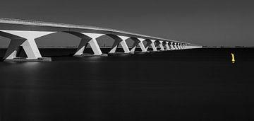 Zeeland Brücke, Niederlände von Adelheid Smitt