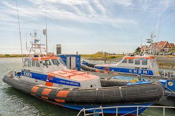 Lifeboats Koos van Messel & Arie Visser sur