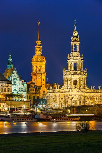 De kathedraal van Dresden van Henk Meijer Photography