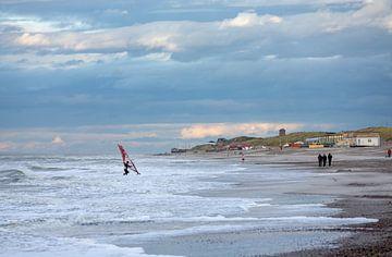 Strand von Domburg von MSP Canvas