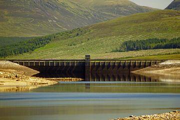 Loch Glascarnoch Dam van Babetts Bildergalerie