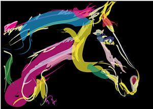 Pferd Schöne Farben von