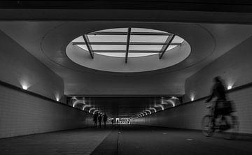 Fietstunnel Rotterdam Centraal van Harmen Goedhart