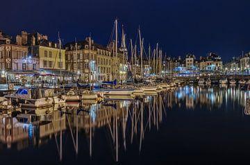 De haven van Honfleur, Normandie  von Dennisart Fotografie