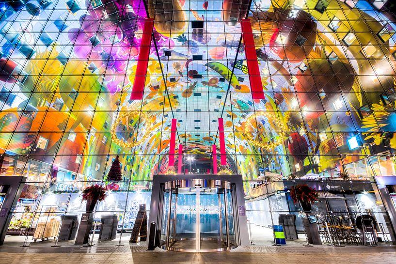 De Markthal Rotterdam van Etienne Hessels