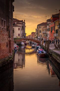 Venedig Sonnenuntergang von Iman Azizi