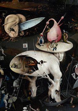 Jeroen Bosch. Tuin der Lusten - detail, 1490 van