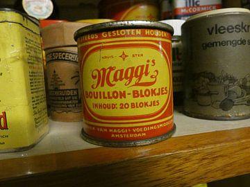 Maggi Bouillon-Blokjes doos van Wilbert Van Veldhuizen