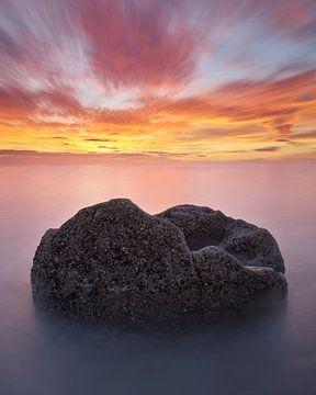 Moeraki-Geröll bei Sonnenaufgang von Keith Wilson Photography