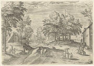 Hans Collaert (I), Blick auf das Gasthaus Klein Bijgaarden