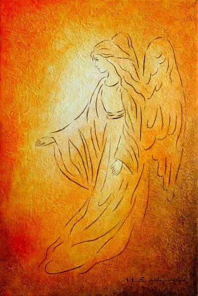 Engel van Genezing - peintures Angel sur Marita Zacharias