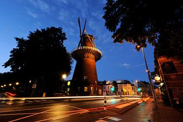 Molen Rijn en Zon in Utrecht (2) von Donker Utrecht