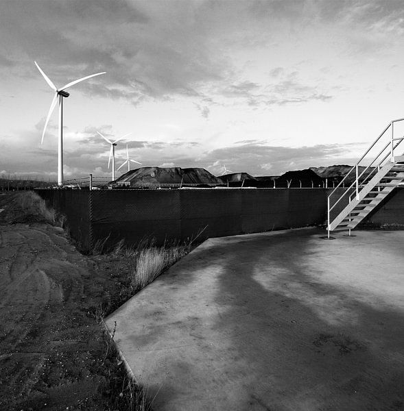 Windmolens in Westpoort van Marlon Mendonça Dias