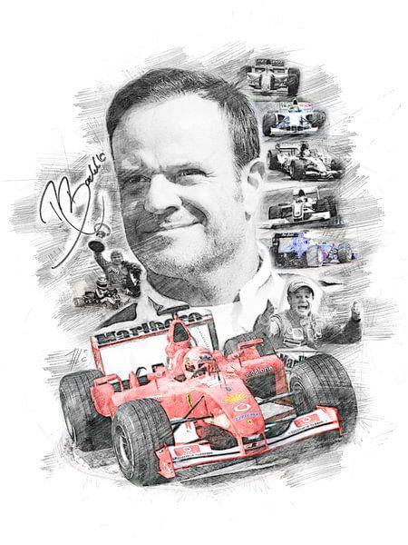 Rubens Barrichello von Theodor Decker