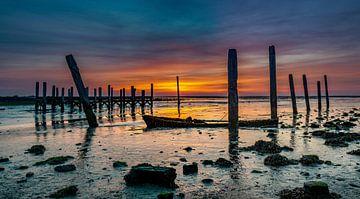 Haven van Sil Texel Zonsopkomst  sur Texel360Fotografie Richard Heerschap