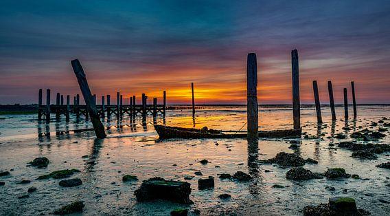 Haven van Sil Texel Zonsopkomst