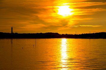 Sonnenuntergang auf Amrum van
