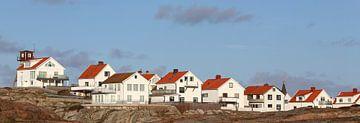 Panorama Schwedens Küste van Heike Hultsch