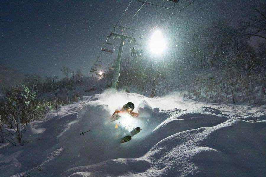 Nacht Ski Niseko Hokkaido Japan