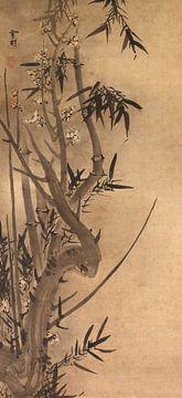 Sesson Shūkei. Bamboe en pruim