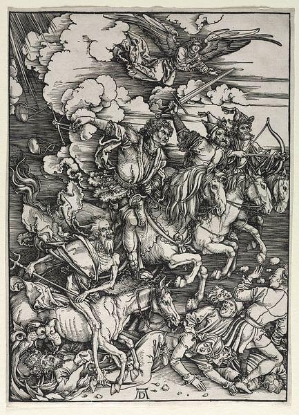 Die vier Reiter der Apokalypse, Albrecht Dürer von De Canon