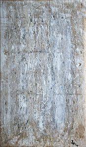 Monochromes, strukturiertes Farbbild: Weiß