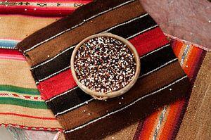 Boliviaanse quinoa.