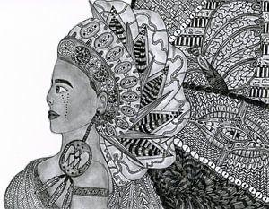 Ägyptische Göttin (Original)