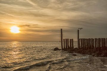 Sonnenuntergang Nordsee von anne droogsma