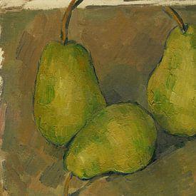 Paul Cézanne. Drie Peren van 1000 Schilderijen