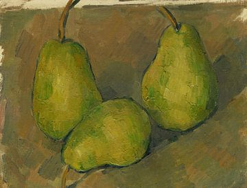 Paul Cézanne. Drei Birnen von