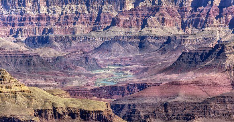 Colorado river & Grand Canyon van Fotografie Egmond