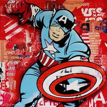 Captain America van Michiel Folkers