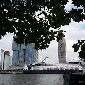 Cruise schip Rotterdam 2 van Karen Boer-Gijsman