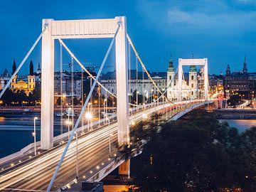 Budapest - Elisabethbrücke von Alexander Voss