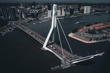 le pont rotterdam erasmus est ouvert sur vedar cvetanovic
