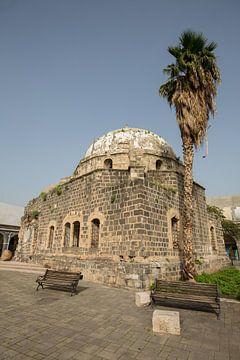 Die große Moschee (Zidani-Moschee) in Tiberias, Israel von Joost Adriaanse