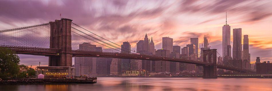New York Skyline - Brooklyn Bridge 2016 (3)