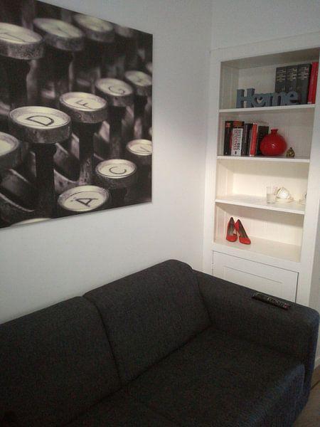 Klantfoto: Schreibmaschinen Tasten van Markus Wegner