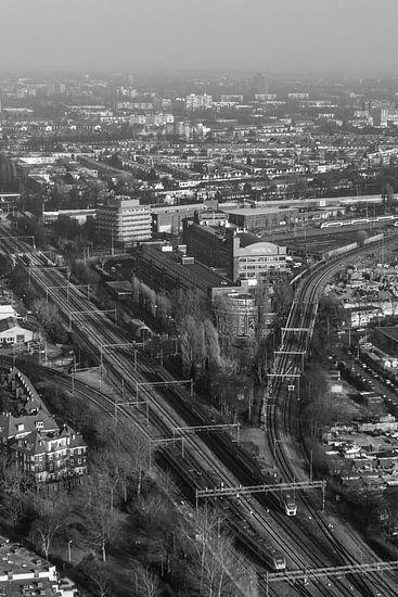 Den Haag vanaf 140m hoogte.