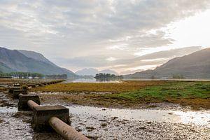Sonnenuntergang in Schottland von Sharona Sprong