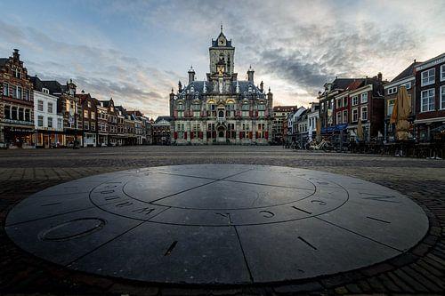 Markt Delft - Elck wandel in godts weghen