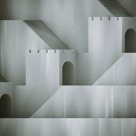 Treppen und Tunnel von Jörg Hausmann