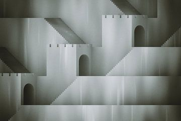 Treppen und Tunnel