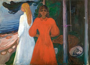 Edvard Munch.Rot und Weiss