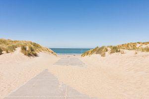 Le chemin de la mer à Burgh-Haamstede sur Charlene van Koesveld