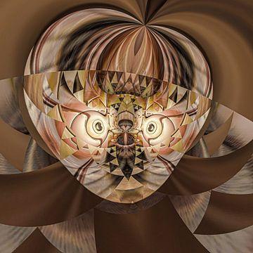 Fantasierijke abstracte twirlillustratie 113/38 van PICTURES MAKE MOMENTS