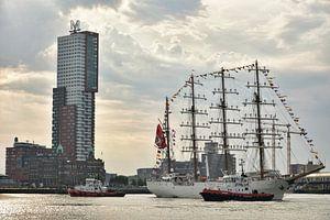 Zeilschip B.A.P. Unión in Rotterdam van