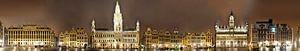 Brussel Grote Markt panorama