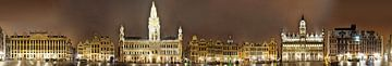 Bruxelles Grand Place panorama sur Panorama Streetline